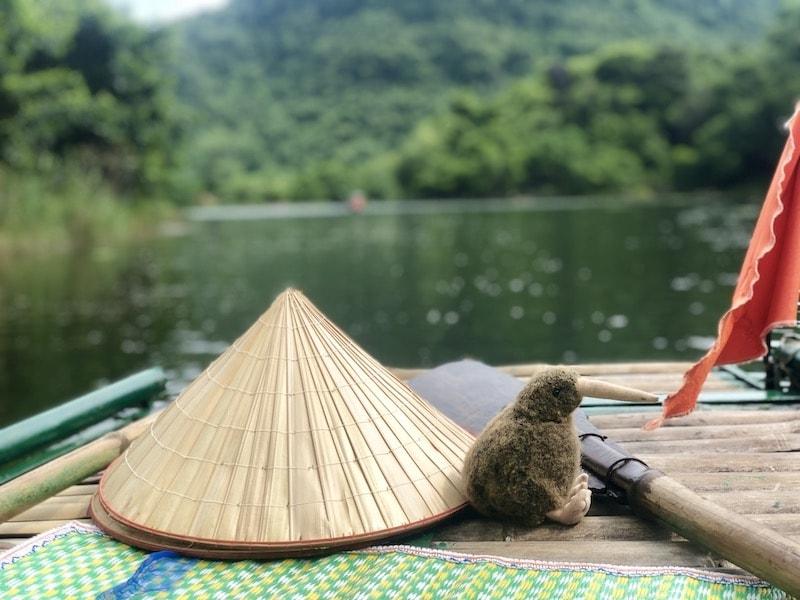 trang an barca nel parco naturale del vietnam