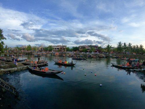 barche lanterne hoi an vietnam