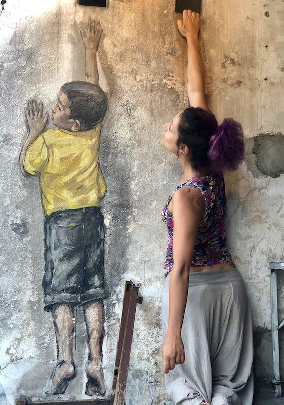 street art malesia penang georgetown