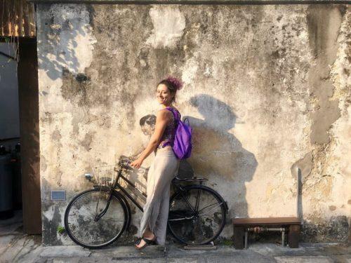 penang geroge town malesia street art