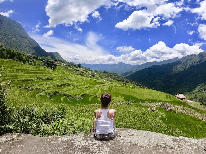 sapa vietnam trekking tra le risaie patrimonio dell'unesco