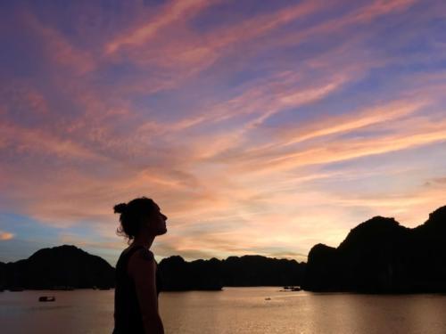Ha long baia crociera halongbay tramonto