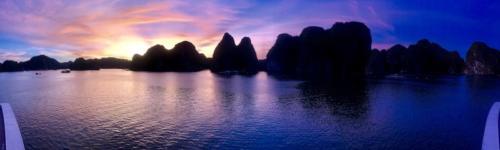 Ha long baia crociera halongbay tramonto 2