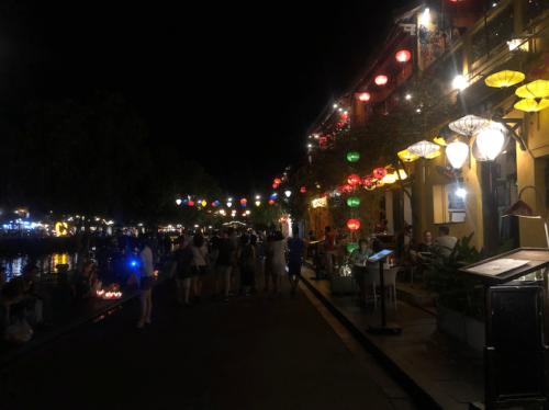 Hoi an lanterne tour notte
