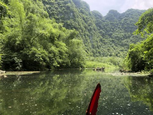 Ninh binh-Trang an risaie vietnam viaggio 1