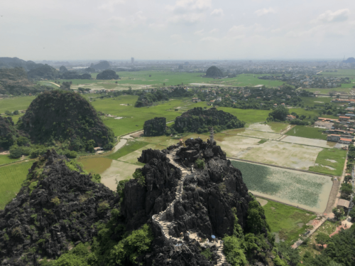 Ninh binh-mua caves risaie viste mozzafiato vietnam viaggio 6
