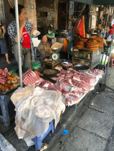 hanoi street food vecchia itinerario vietnam mercato