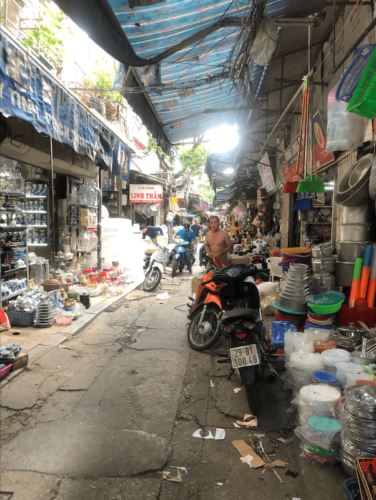 hanoi street food vecchia itinerario vietnam mercato 3