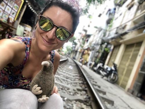 hanoi train street vecchia hanoi itinerario vietnam 5