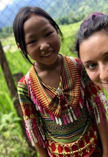 sapa sa pa vietnam risaie trekking bambine